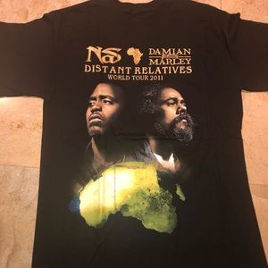 Other - NAS & Damian Marley World Tour 2011 T Shirt